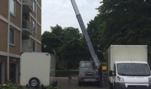 Een verhuislift tot wel 25 meter hoogte