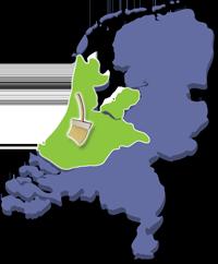 Het werkgebied van Allerommelopgeruimd.nl